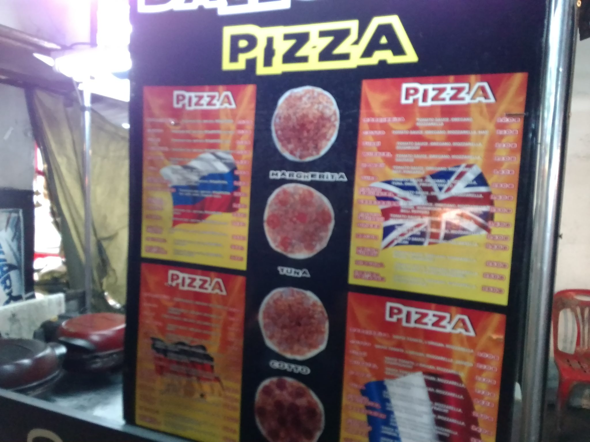 2018GWラマイ屋台ピザ